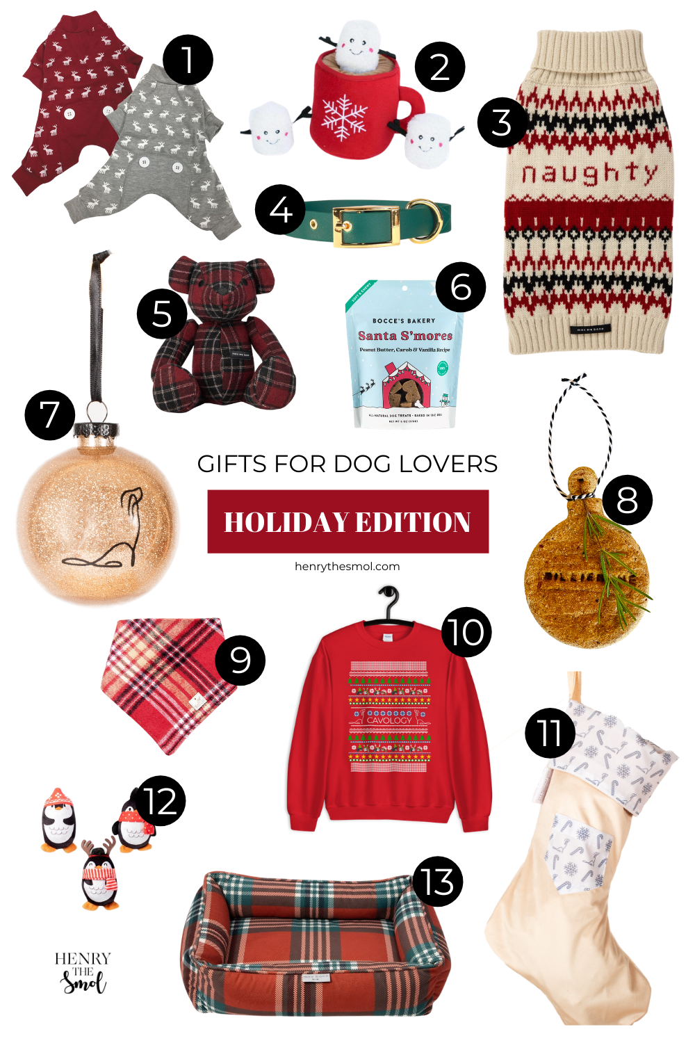 Holiday Gifts For Dog Lovers