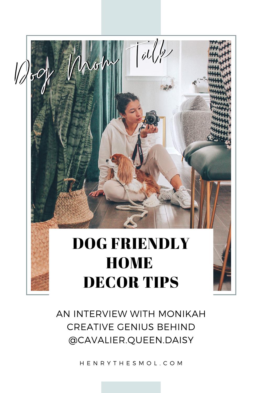 Dog Mom Talk: Dog-Friendly Home Decor Tips