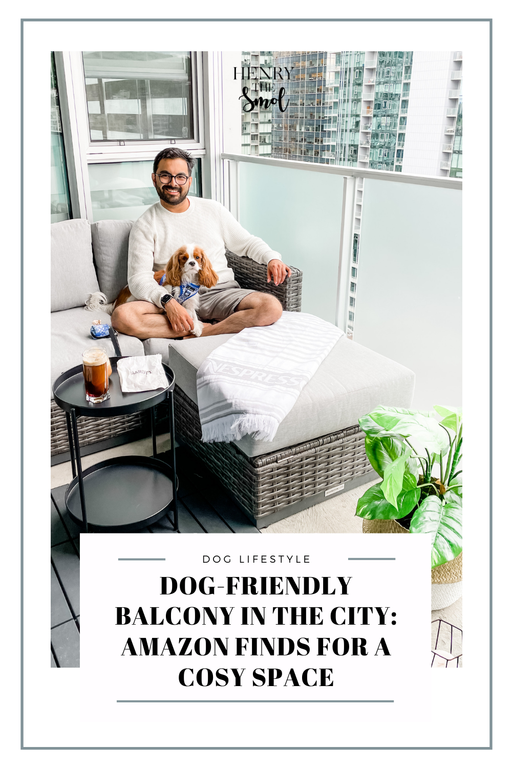 How Dog Moms Can Relax: Dog-Friendly Balcony Finds