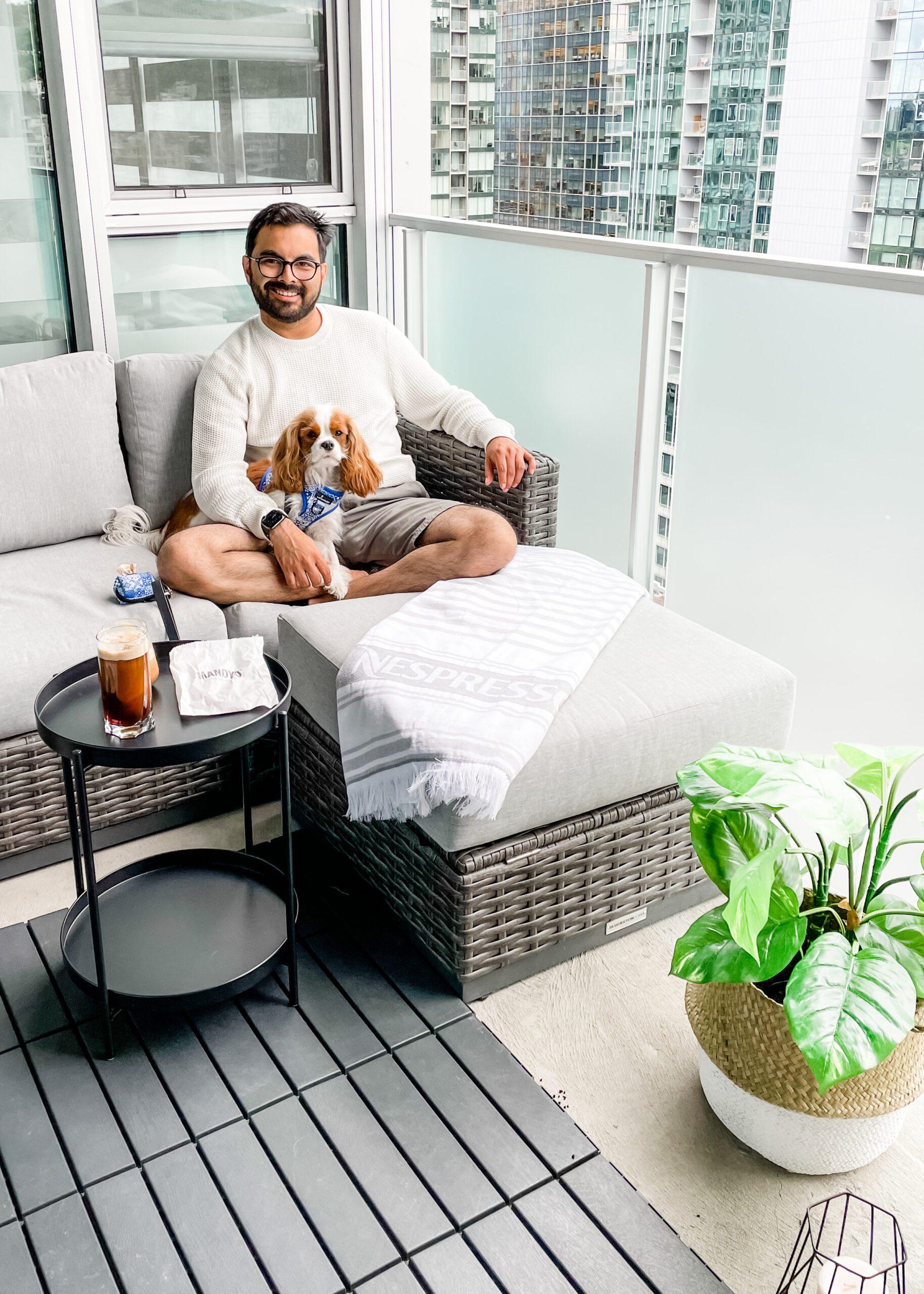dog-friendly balcony